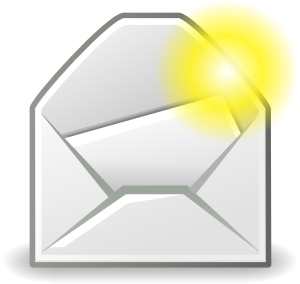 Message new clip art. Mail clipart msg