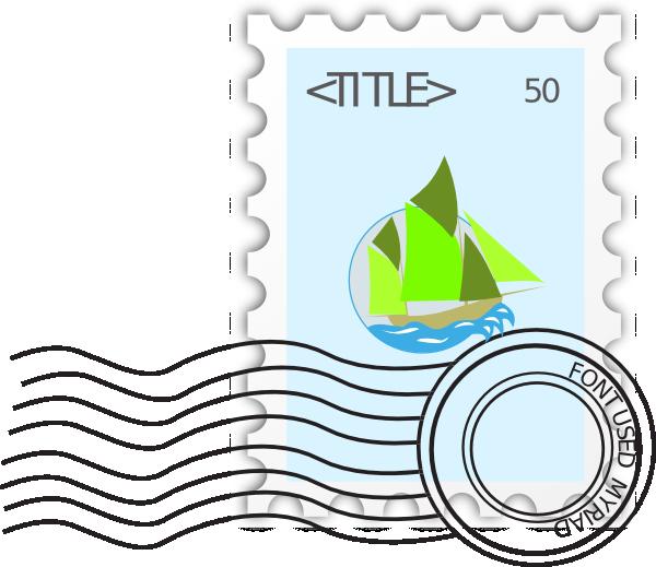 Postage stamp clip art. Email clipart postal letter