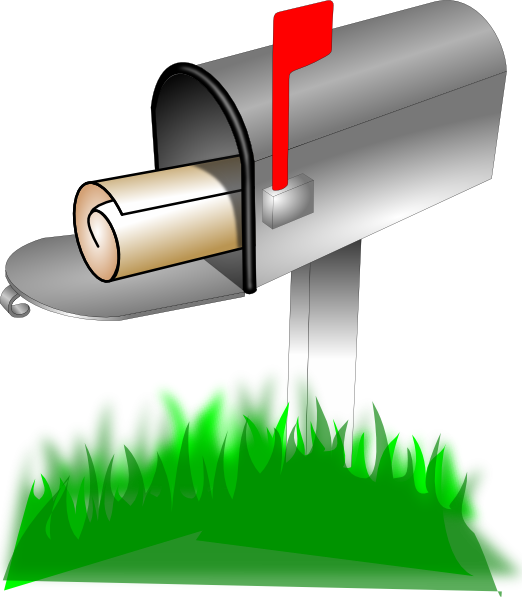Mailbox clipart green. Clip art at clker