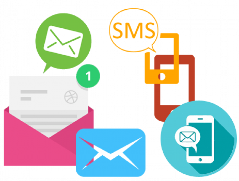 Mail clipart sms logo. Marketing a quick guide