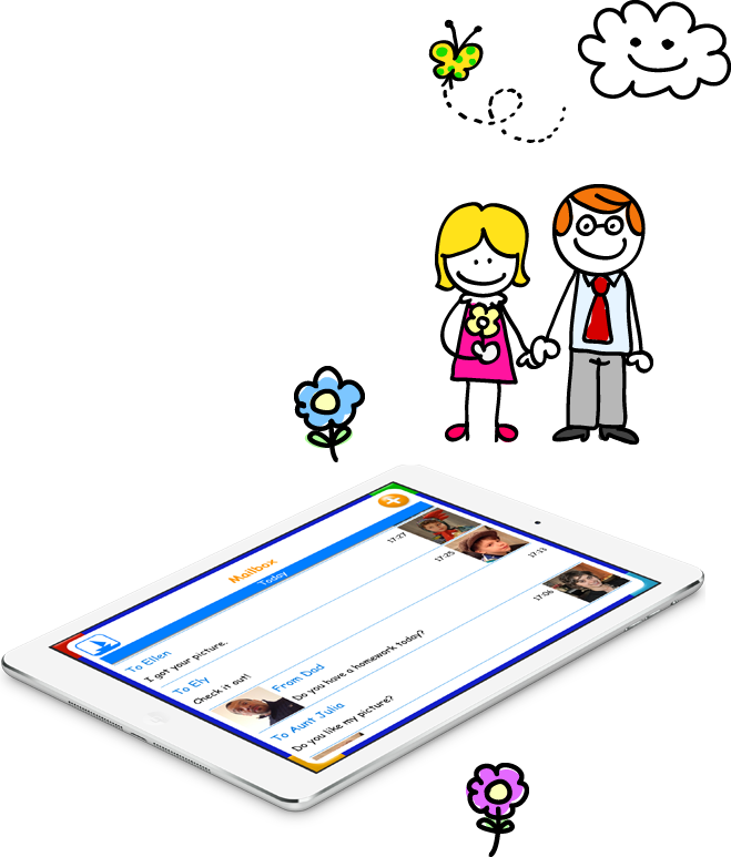 Tocomail a safe and. Email clipart teacher contact
