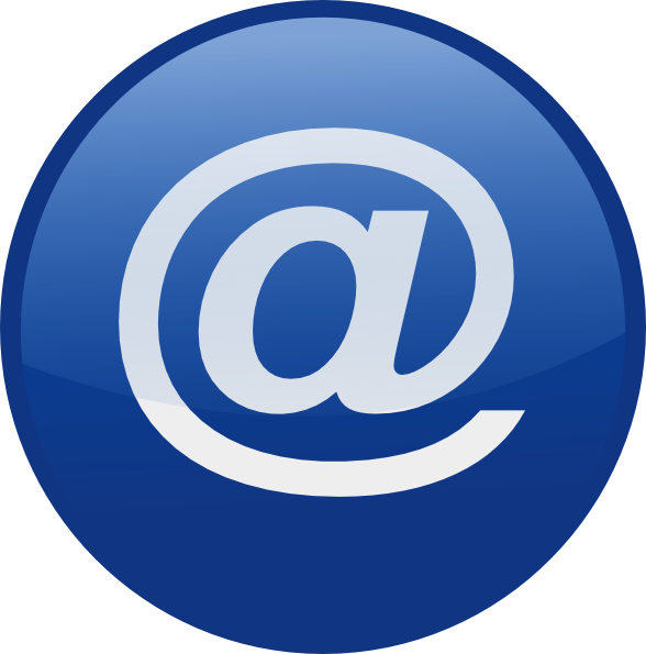 Email clipart website. Button clip art at