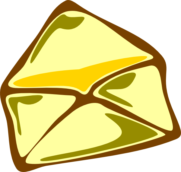 Email clipart yellow envelope. Clip art at clker