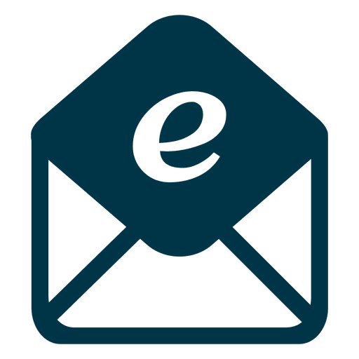 Email icon png. Flat transparent svg vector