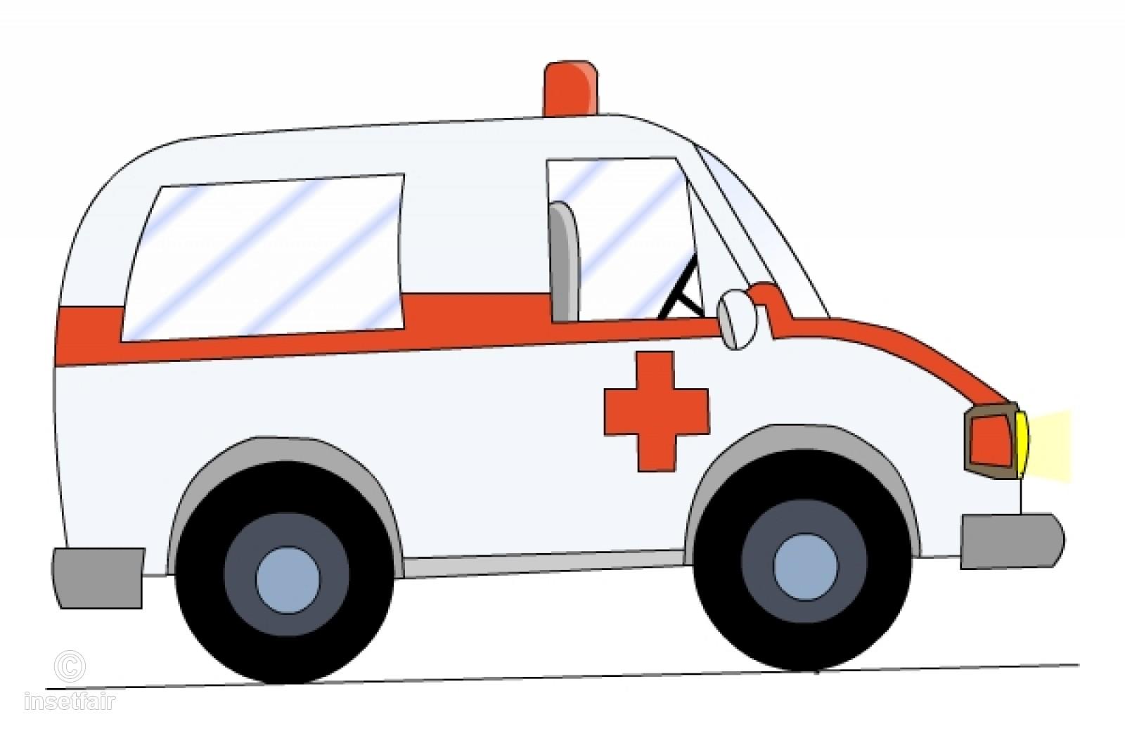 Vehicle cartoon png . Emergency clipart ambulance car