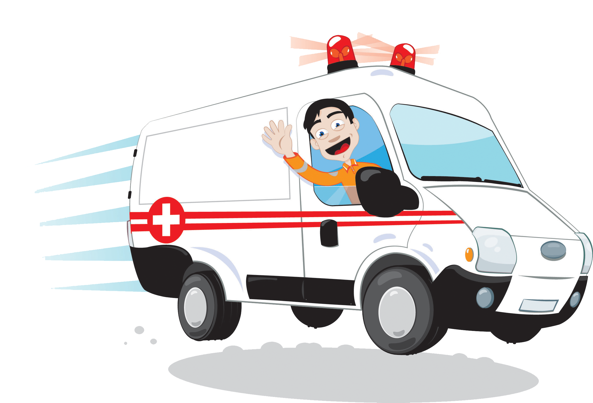 Emergency clipart ambulance driver. Royalty free stock photography