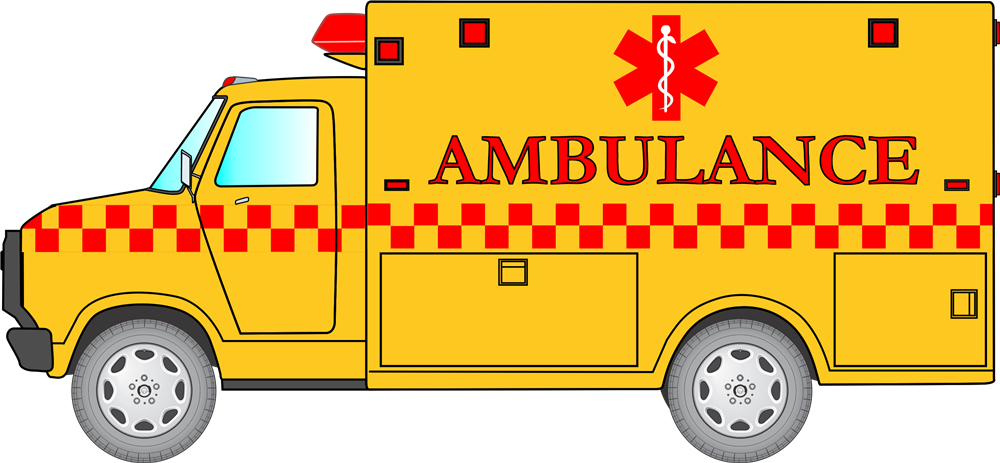 Emergency clipart animated. Ambulance clip art image