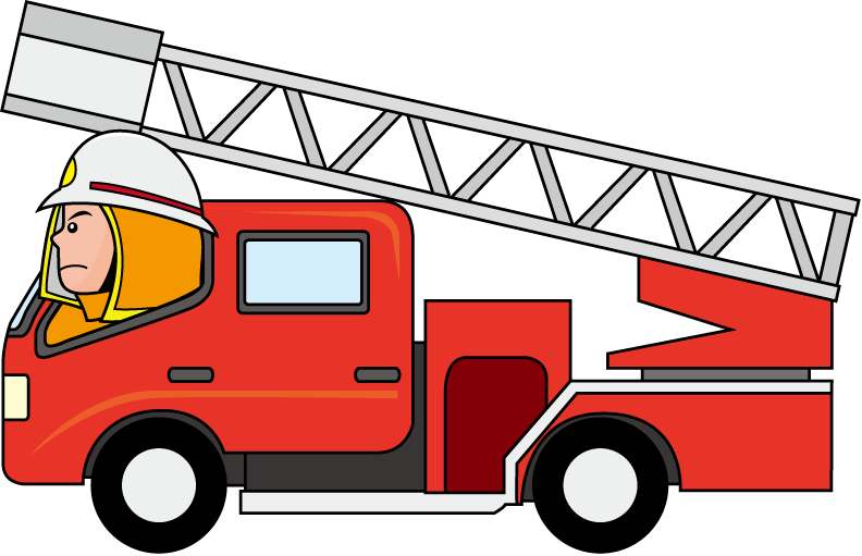 Fire clipart cartoon.  collection of truck