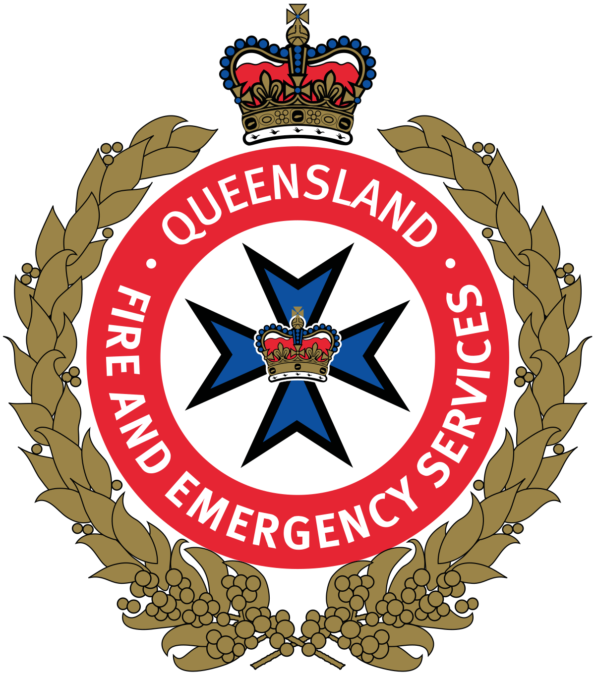 Firefighter clipart water rescue. Queensland fire and emergency