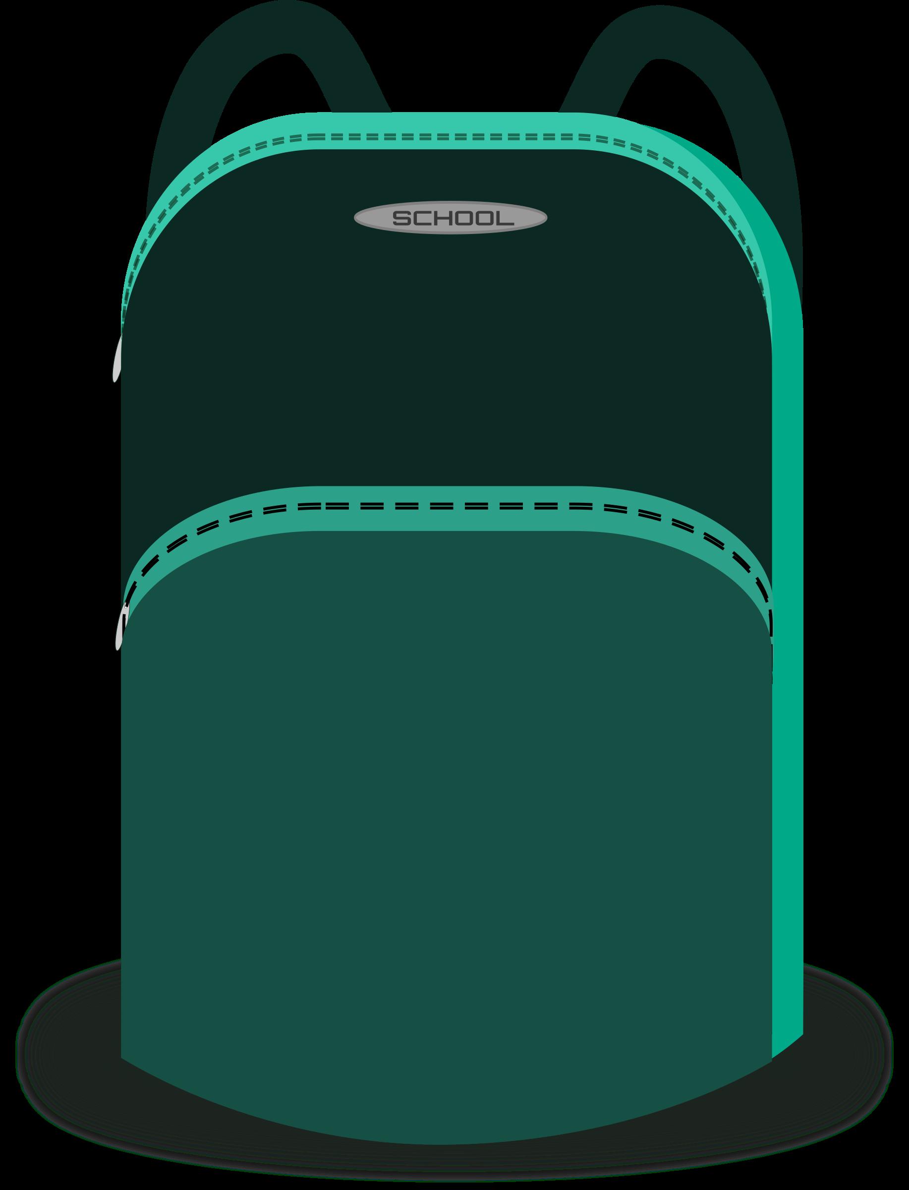 Emergency clipart emergency backpack. School bag big image