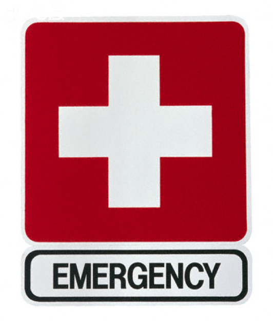 Emergency clipart emergency department. Hospital cartoon red product