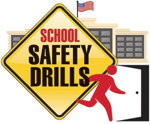 Student drills high point. Emergency clipart emergency drill