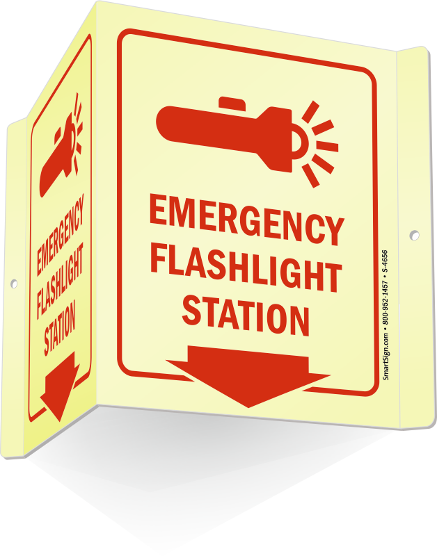 d projecting signs. Emergency clipart emergency drill