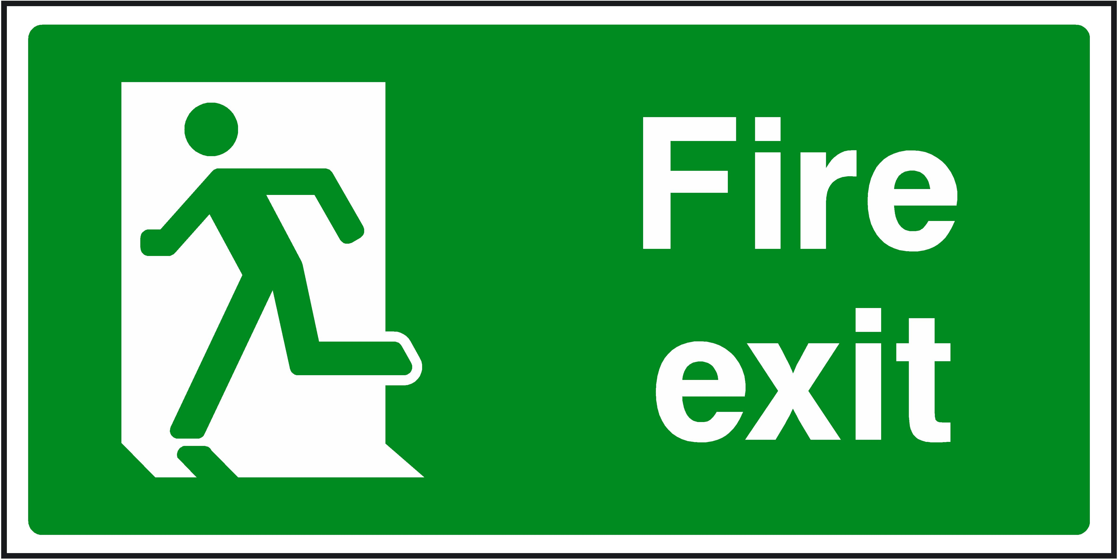 Free Emergency Exit Signs, Download Free Clip Art, Free Clip ...