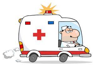 Driving stillwaters . Emergency clipart emergency help