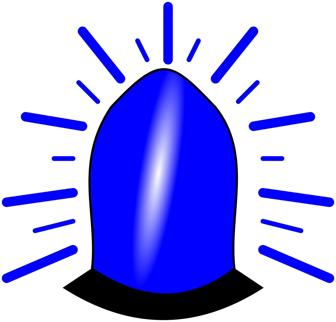 Emergency clipart emergency phone. File blue light icon