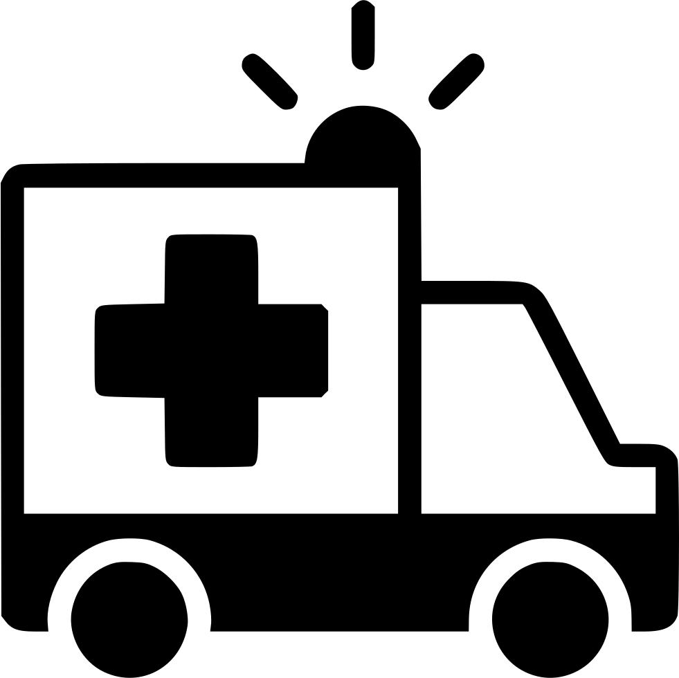 Emergency clipart emergency phone. Ambulance truck hospital vehicle