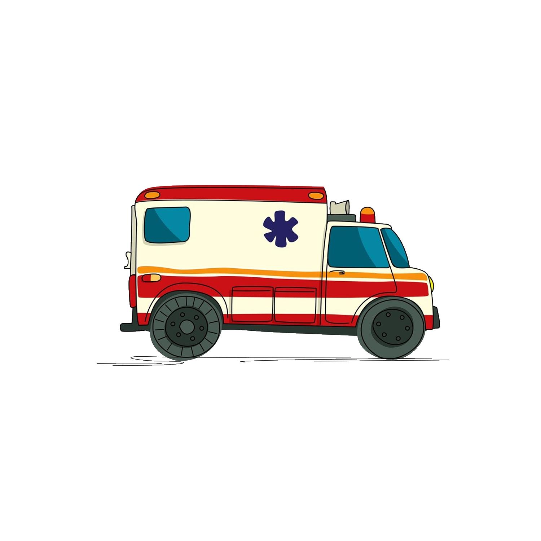 Ambulance drawing royalty free. Emergency clipart emergency vehicle