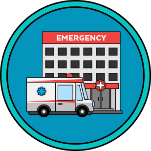 Emergency clipart er room. Quiz or urgent care