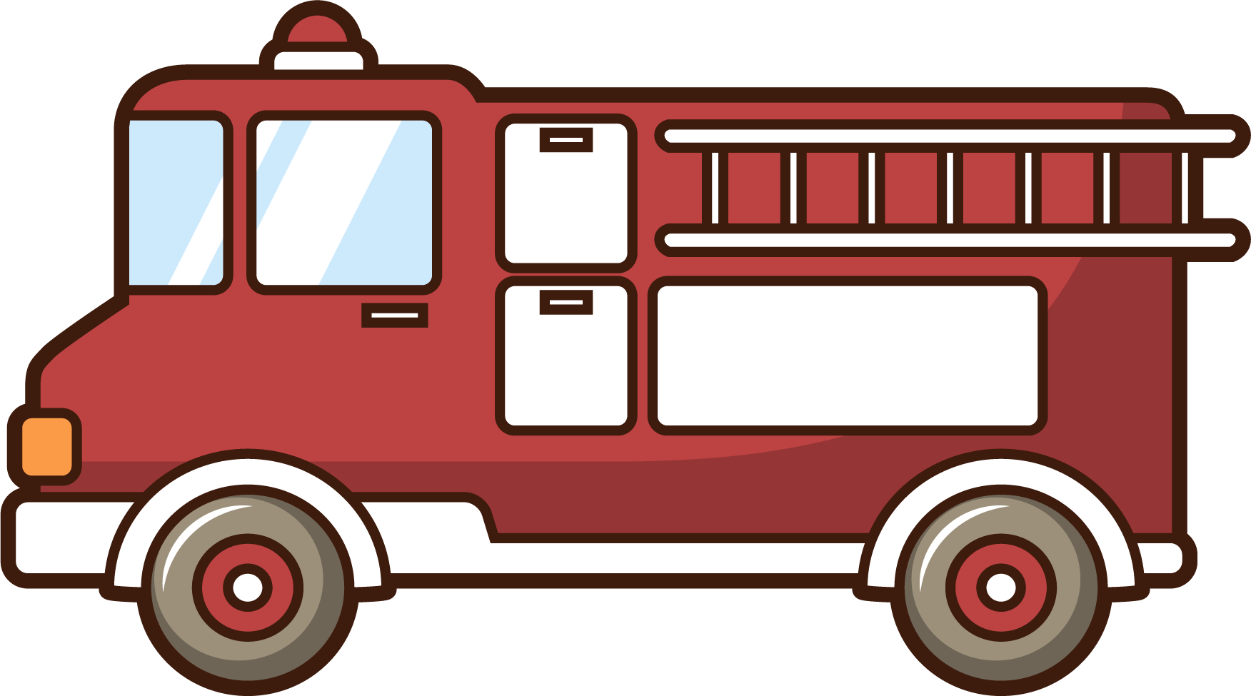 Motor vehicle fire firefighter. Engine clipart draw car