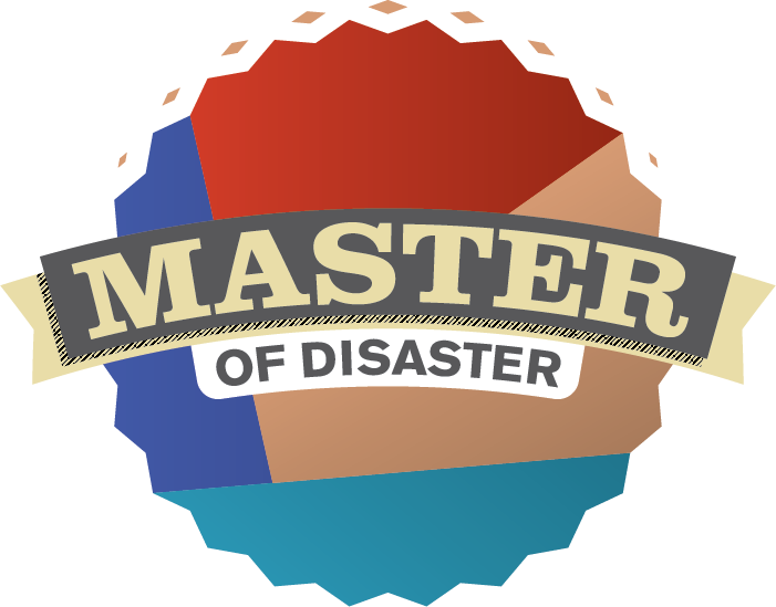 Master of disaster module. Emergency clipart flood preparedness