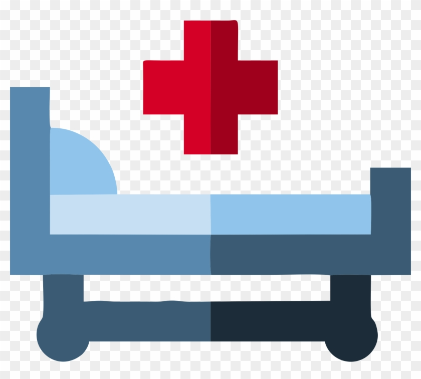 No wait room icon. Emergency clipart medical bed