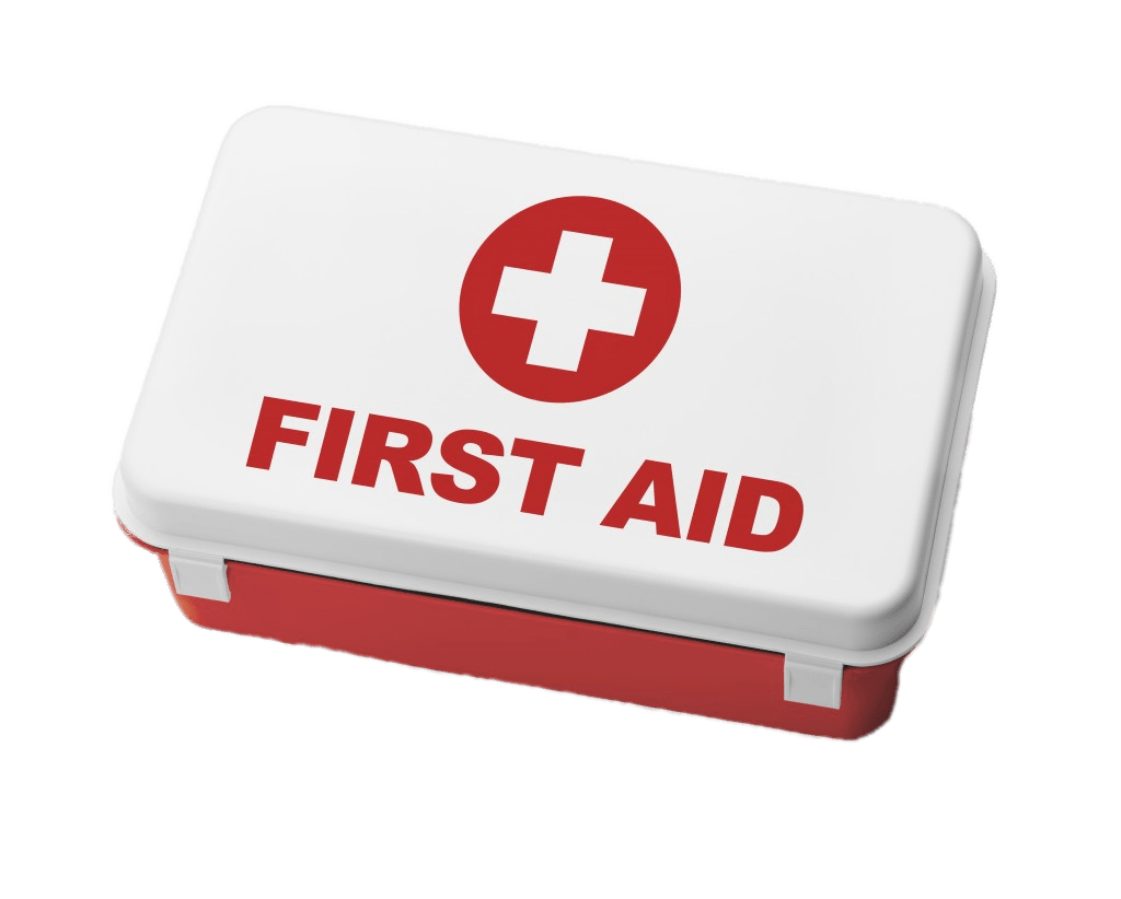 Kit box transparent png. Health clipart first aid cross