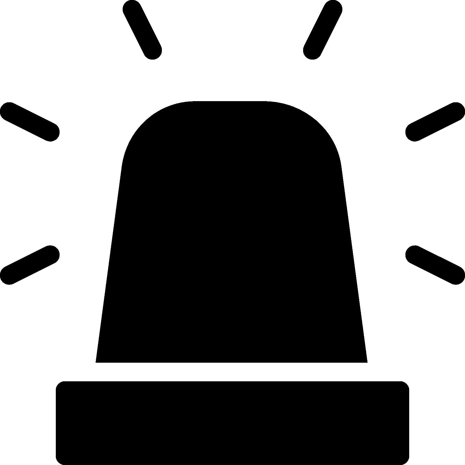 Siren computer icons clip. Tool clipart policeman
