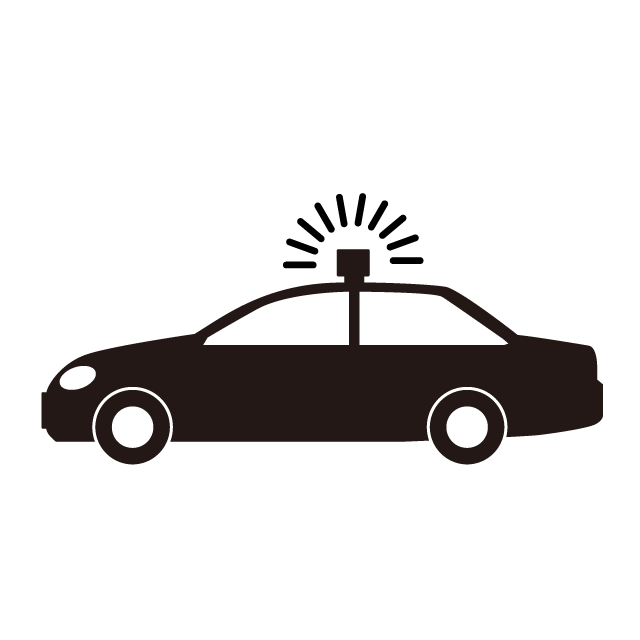 Police car vehicle siren. Emergency clipart rescue