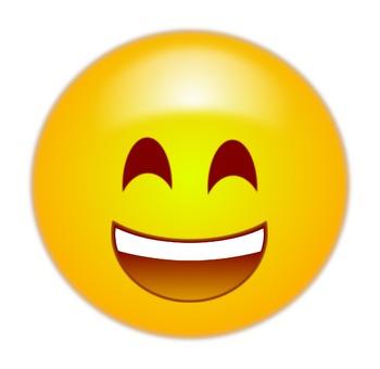 Emoticon emoji free clip. Clipart happy