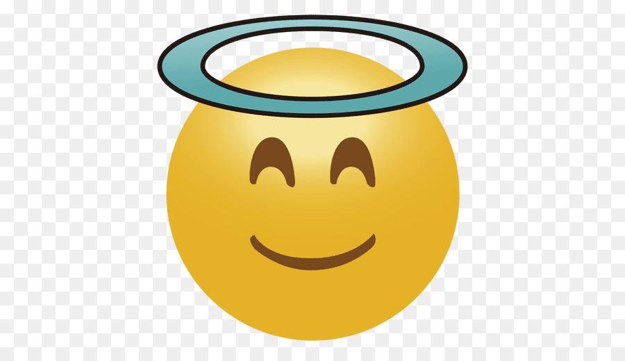 Emoji clipart angel. Smiley emoticon face clip