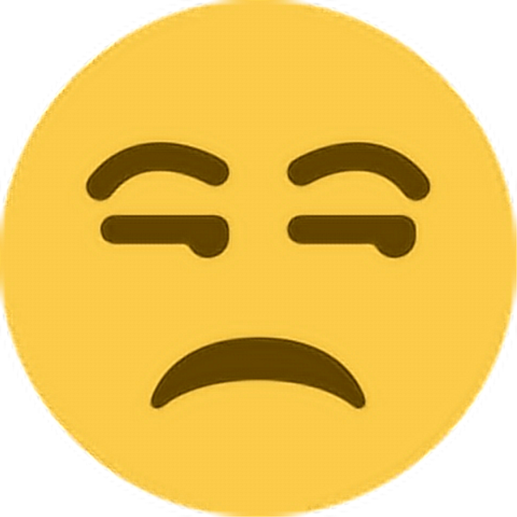 Angry pissed annoyed unhappy. Emoji clipart anger