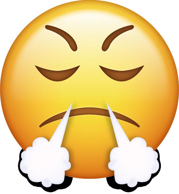 emoji clipart anger