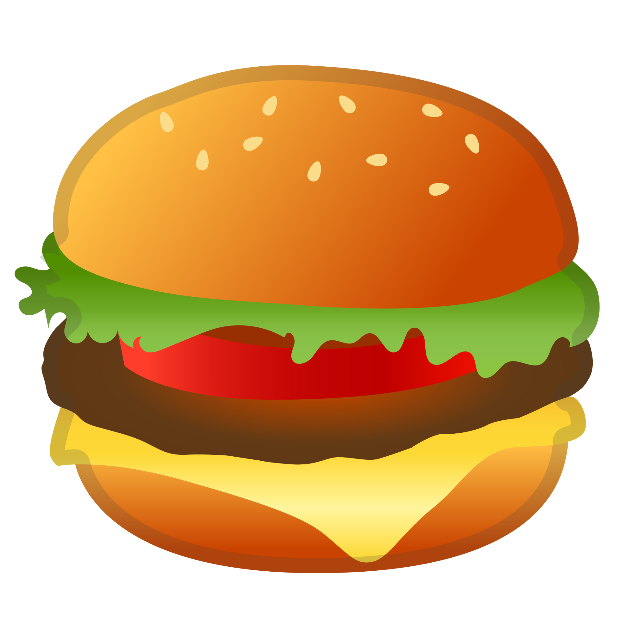 Emoji clipart burger. File noto oreo f