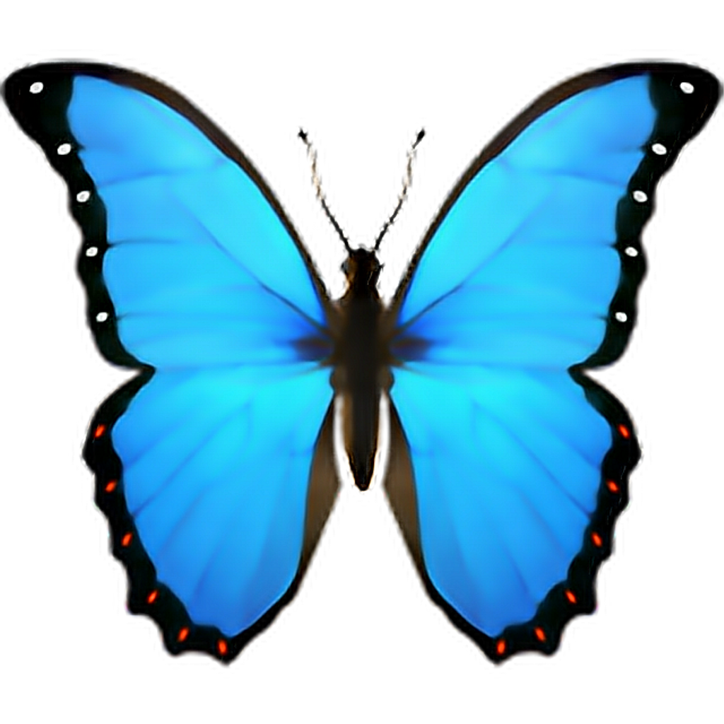 Sticker by c r. Emoji clipart butterfly