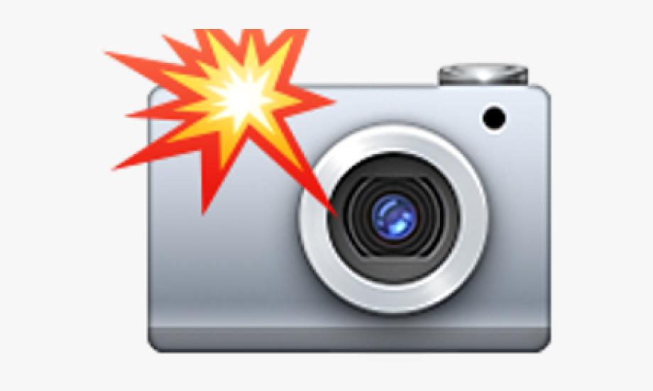 Flash clipart camera photo shoot. Emoji transparent