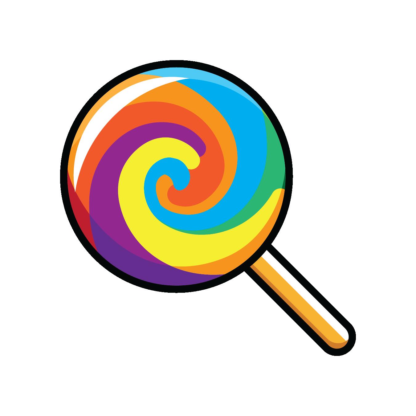 Lollipop emojis whatsapp clip. Emoji clipart candy