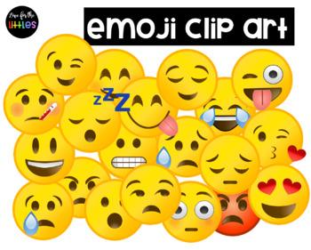 Clip art . Emoji clipart emotion