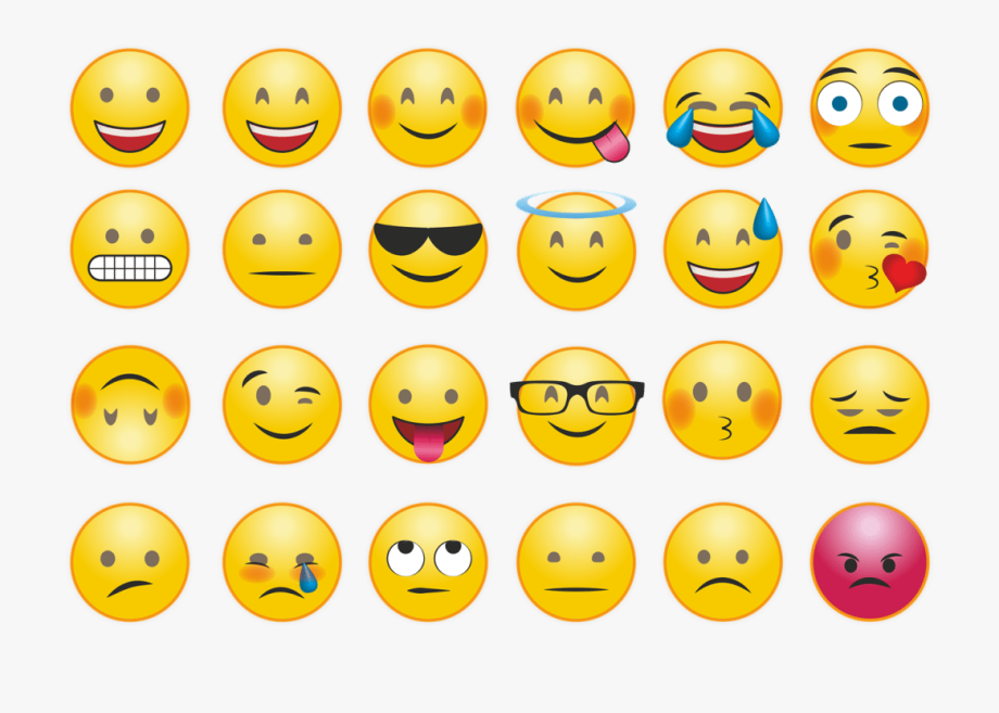 Emotions clipart emoji. Smiley face meaning in