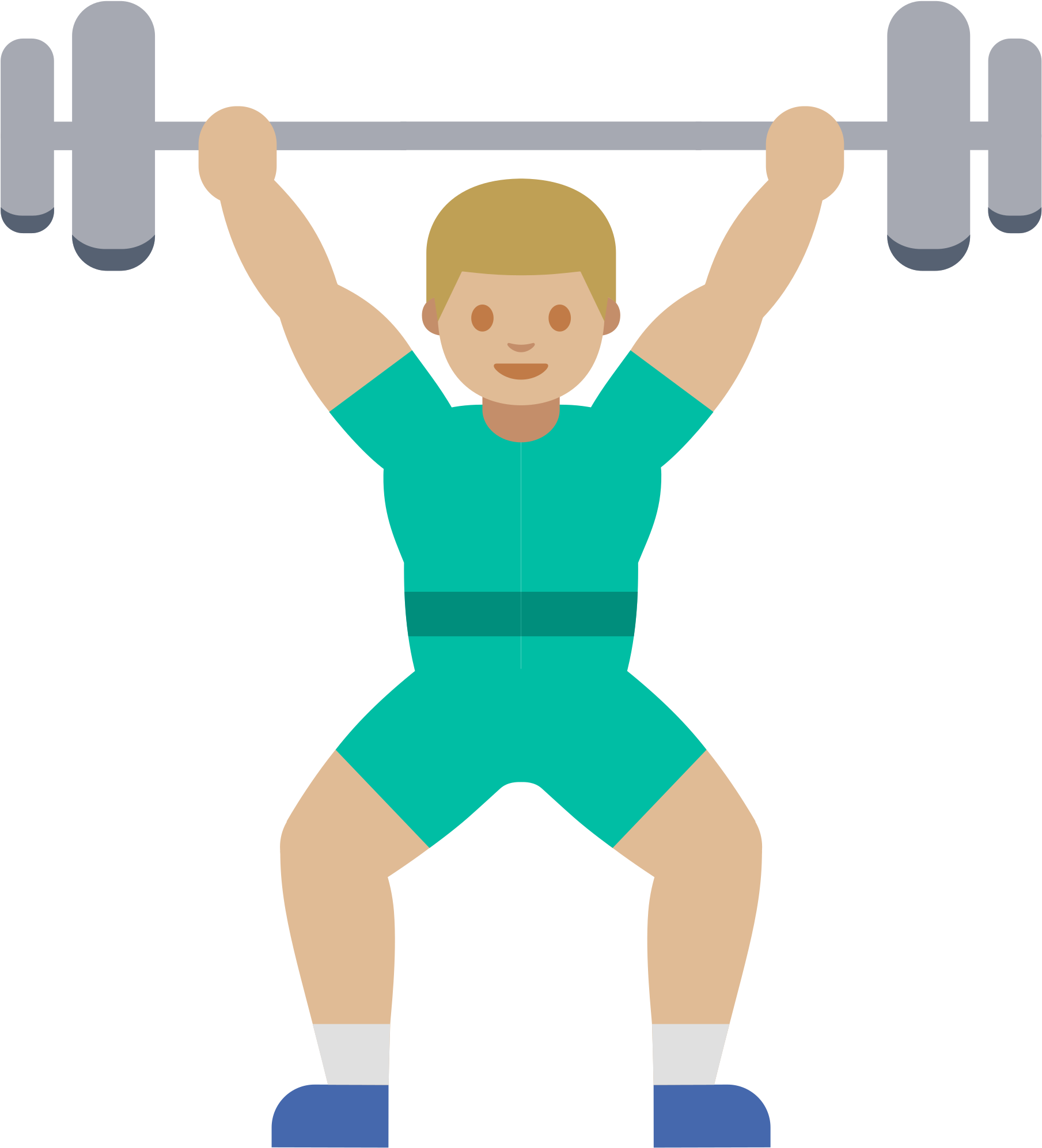 Open fitness png full. Emoji clipart exercise