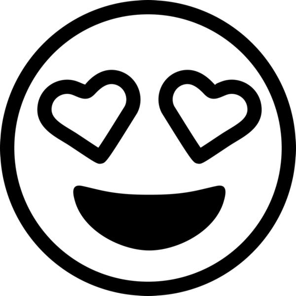 Emoji clipart eyes. Rubber stamps stamptopia heart