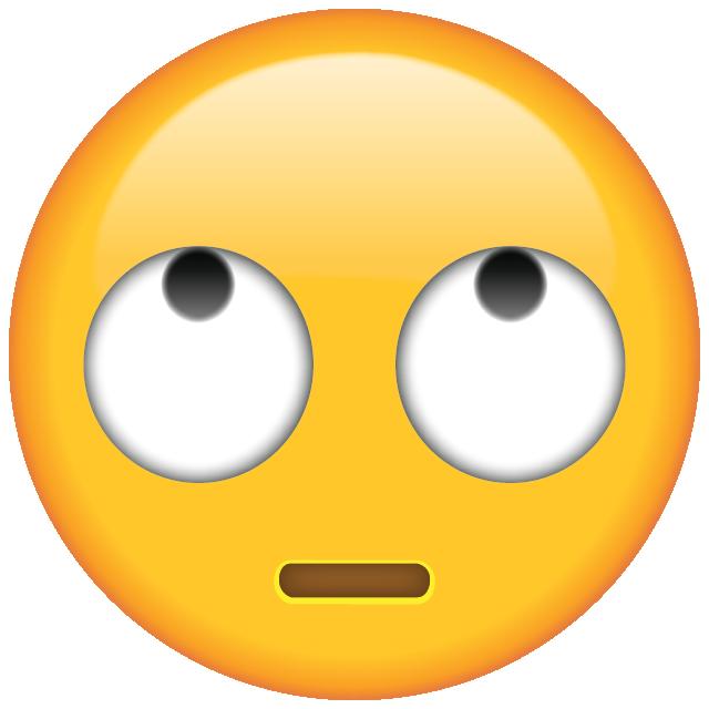 Emoji clipart eyes. Side eye emoticon acur