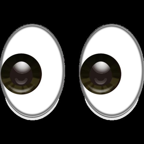 . Emoji clipart eyes