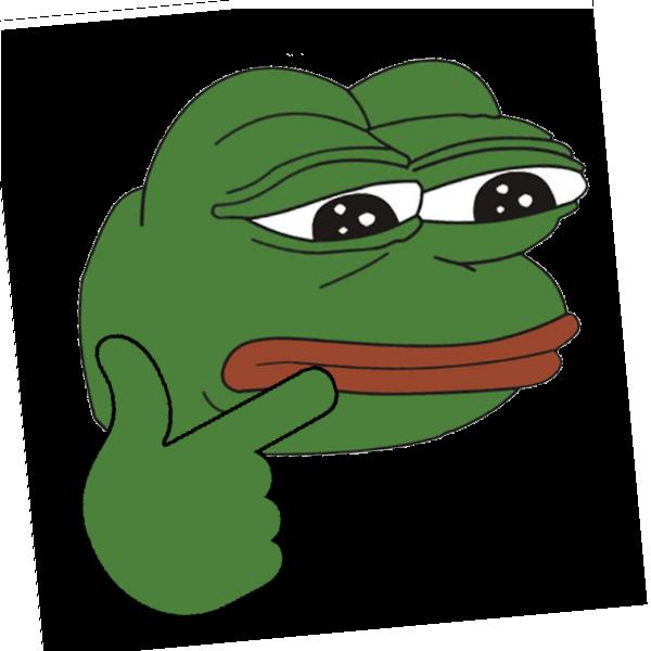 Emoji clipart frog. Gotta go fast pepe