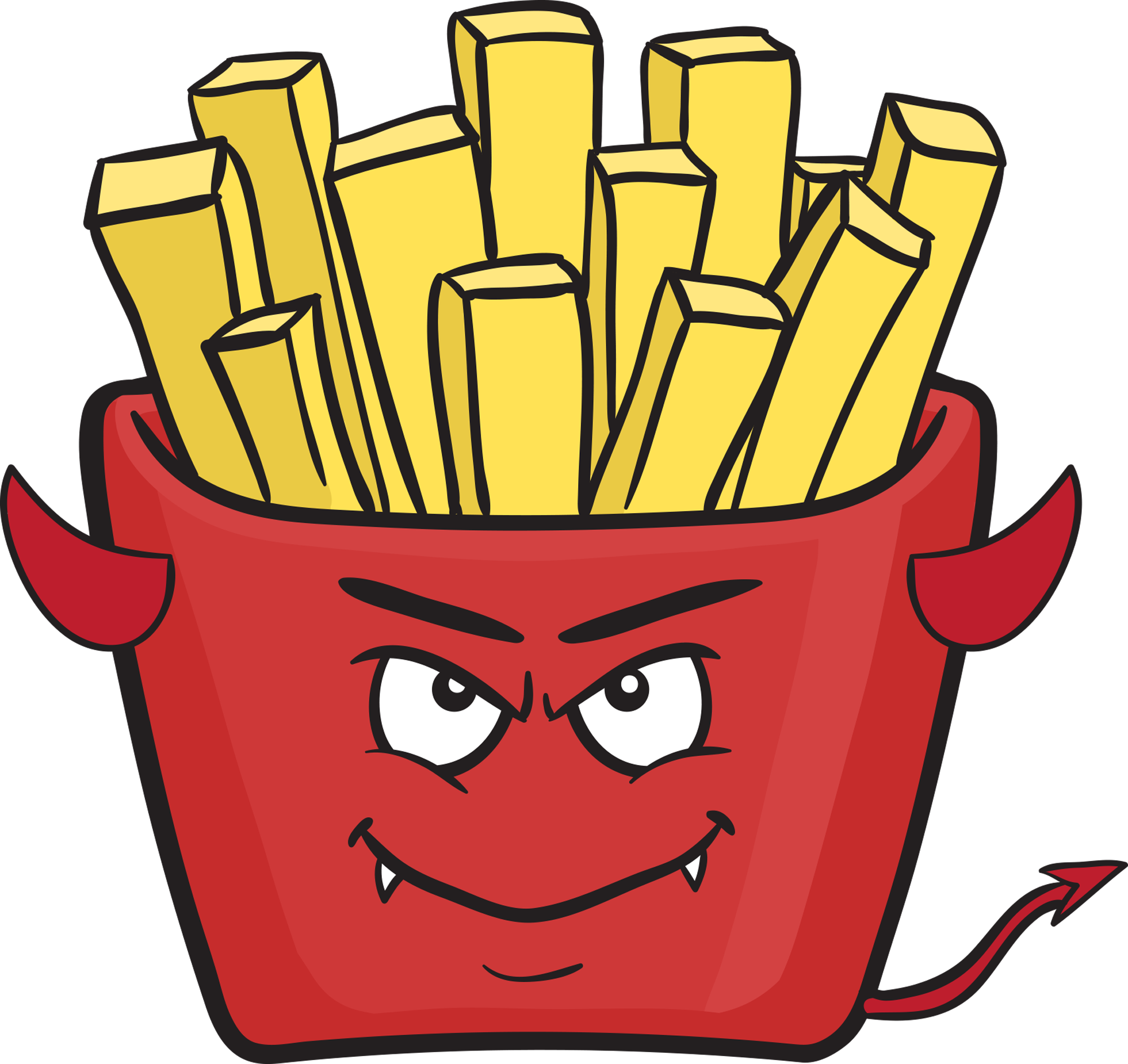 Emoji clipart fry. Satan lucifer and some