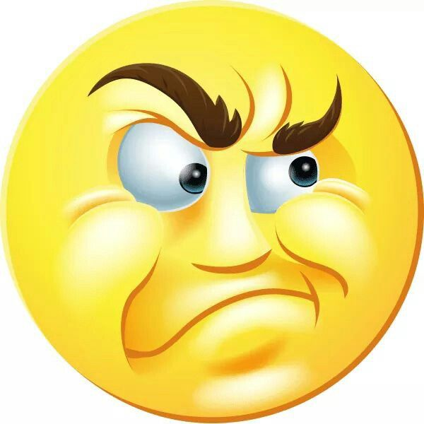Old man smiley m. Emoji clipart grumpy