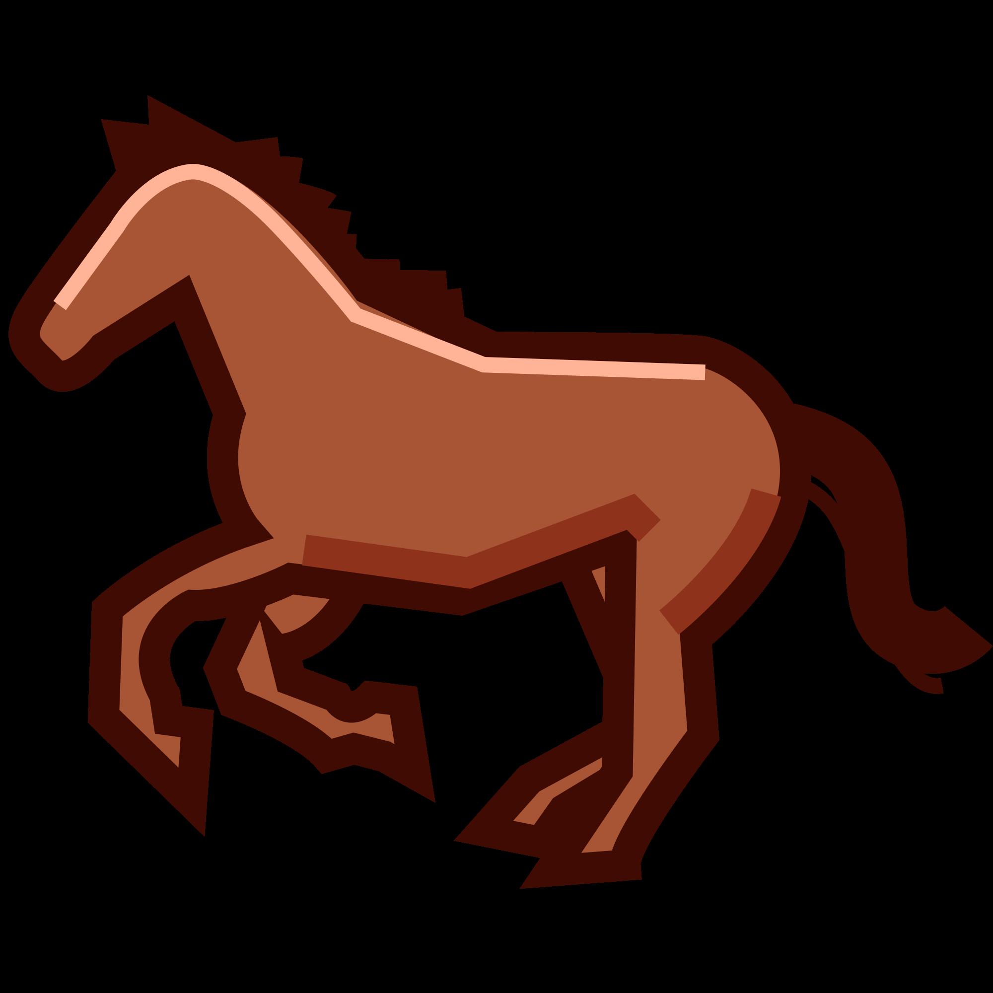 File phantom open f. Emoji clipart horse
