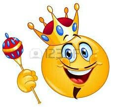 Emoji clipart king. It s all about