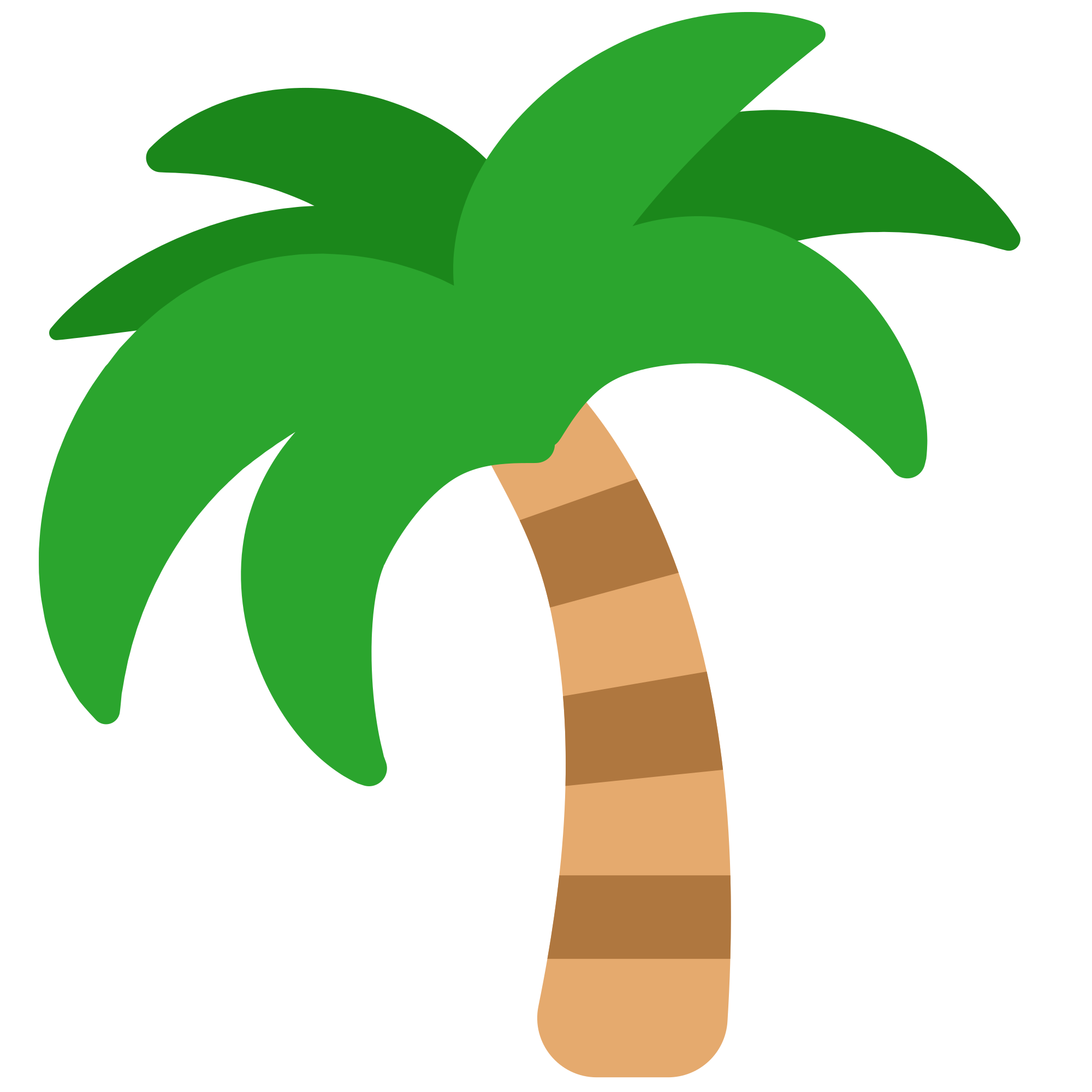 Sticker tree clip art. Emoji clipart leaf