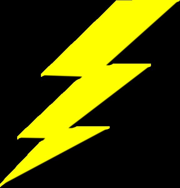 lightning clipart emoji